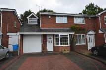 semi detached house for sale in Cocton Close, Perton...