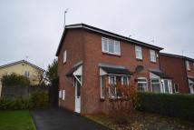 semi detached home for sale in Bader Road, Perton...