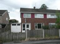 3 bed semi detached property in Priory Close, Wellington...