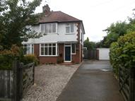 2 bed semi detached property in Morton Road...