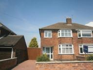 3 bed semi detached house in School Lane, Whitwick...