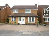 Detached home for sale in Kingfisher Close, Syston...