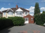 3 bedroom semi detached home in Lutterworth Road...