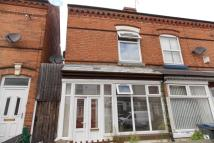 Terraced property in Albert Road, Stechford...