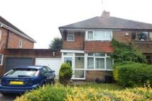 Longbridge Lane semi detached house for sale