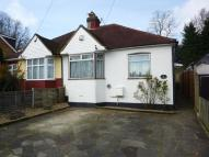 Sandy Lane Semi-Detached Bungalow for sale