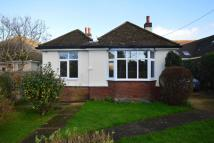 Bungalow in Bewsbury Cross Lane...
