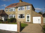 3 bed semi detached house in Royston Road, Bearsted...