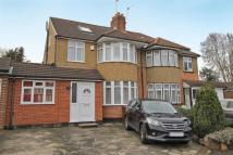 4 bed semi detached home in Southbourne Close, Pinner