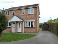 semi detached house in Long Field Road...