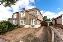 semi detached property for sale in Hyde Road, Bexleyheath...