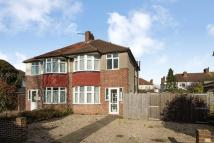 West Barnes Lane semi detached property for sale