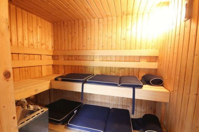 Sauna (In Cabin)
