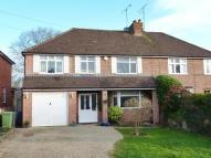 4 bed semi detached property in BOURNE END