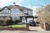 4 bedroom semi detached home for sale in Kingswood Avenue...