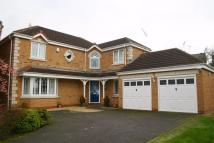 Detached home in Fothergill Close...