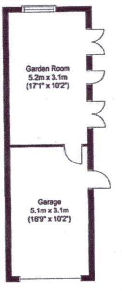 3 Garage 2 & Garden