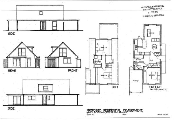 Plot 1 & 2 Floorplan