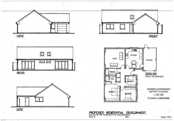 Plot 3 & 4 Floorplan