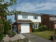 Detached house for sale in Wyelands View, Chepstow