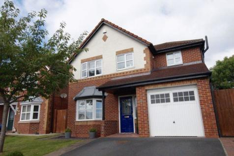 Ogwen Close, New Broughton, Wrexham, LL11 6QF, North Wales - Detached / 4 bedroom detached house for sale / £205,000