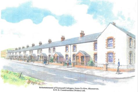 Land at Foundry Cottages, Garn Road, Blaenavon, NP4 9SE, South Wales - Residential Development / Residential development for sale / £70,000