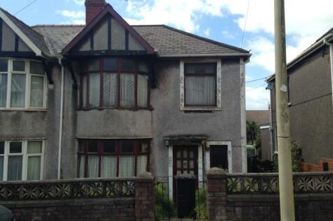 Bracken Road, Margam, Port Talbot, SA13, South Wales - Semi-Detached / 3 bedroom semi-detached house for sale / £55,000
