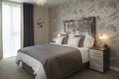 Комбинирование серых обоев в спальне фото идеи