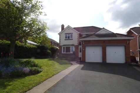 Tan Y Felin, Greenfield, Holywell, Flintshire, CH8, North Wales - Detached / 4 bedroom detached house for sale / £239,950