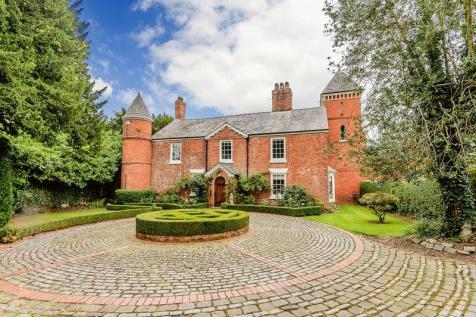 Detached Houses For Sale In Church Minshull Nantwich Cheshire