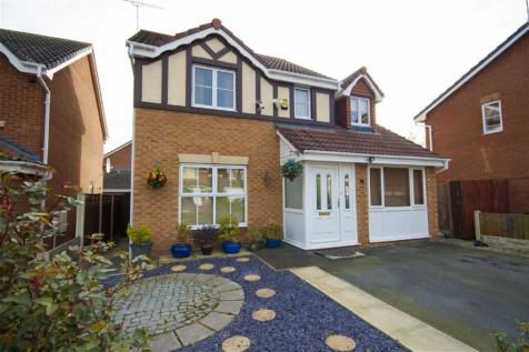 Goodwick Drive, Abenbury Park, Wrexham, LL13 0JY, North Wales - Detached / 4 bedroom detached house for sale / £210,000