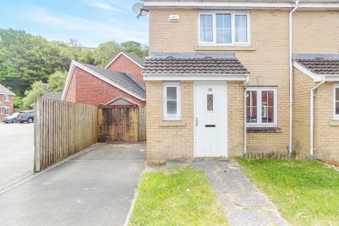 Cwm Felin , Blackmill, Bridgend. CF35 6EJ, South Wales - End of Terrace / 2 bedroom end of terrace house for sale / £112,500
