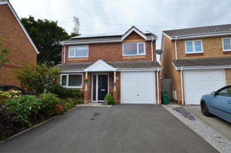 Meadow Drive, Tyla Garw, Pontyclun, CF72 9FR, South Wales - Detached / 4 bedroom detached house for sale / £234,995