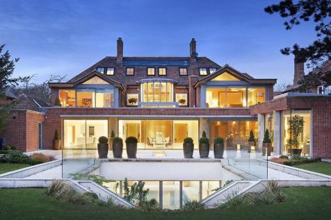 Modern mansions in england images galleries with a bite for Modern house auction
