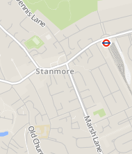 Stanmore Tube Station Car Park Postcode