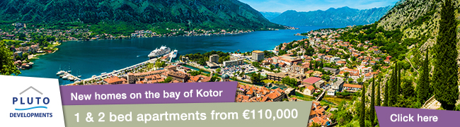 New Homes on the Bay of Kotor
