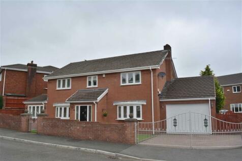 Winchfawr Park, Merthyr Tydfil, CF48 1TL, South Wales - Detached / 4 bedroom detached house for sale / £299,995