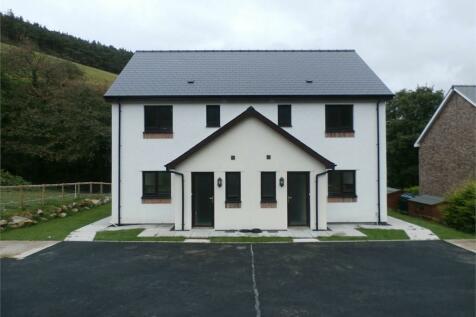 Plot  Adjoining Aber Ddwynant, Llanafan, Aberystwyth, SY23, Mid Wales - Semi-Detached / 3 bedroom semi-detached house for sale / £157,500