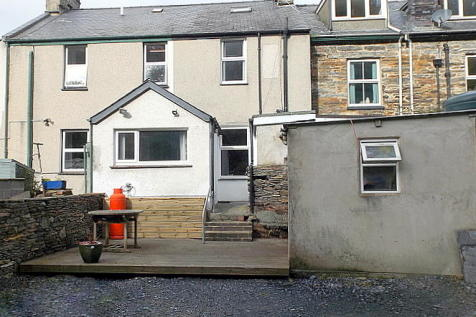 Ty Gwilym, High Street, Talsarnau, Merionethshire, LL47 6TY, North Wales - Terraced / 3 bedroom terraced house for sale / £130,000