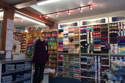 Caroline's Wool Shop Business, 5, Market Street, Newtown, SY16, Mid Wales - House / House for sale / £35,000