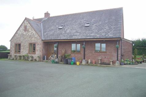 Spring Bank, Geuffordd, Welshpool, Powys, SY21, Mid Wales - Detached Bungalow / 3 bedroom detached bungalow for sale / £299,950