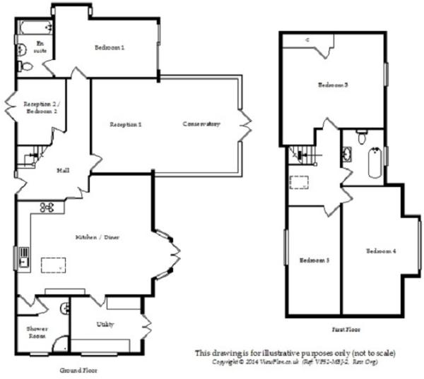 Dormer bungalow floor plans uk thefloors co for Dormer floor plans