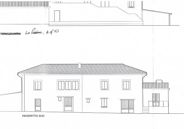 South elevations