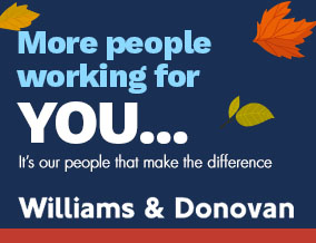 Get brand editions for Williams & Donovan, Benfleet