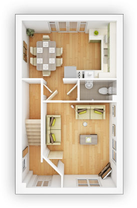 Taylor WImpey - Gosford- GF Floor plan