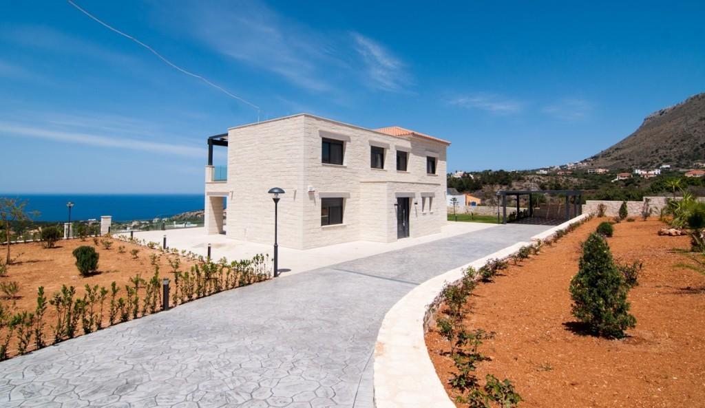 3 Bedroom Detached Villa For Sale In Plaka Chania Crete