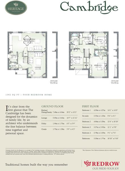 redrow oxford floor plan 28 images redrow oxford floor plan – Redrow Cambridge House Floor Plan