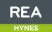 REA, Hynes logo