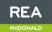 REA, McDonald logo