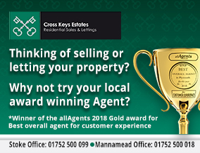 Get brand editions for Cross Keys Estate Agents Ltd, Plymouth